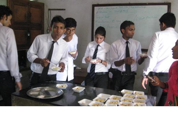 Students enjoying_13